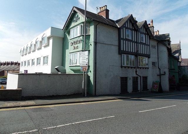De Trafford Arms and a Premier Inn in Alderley Edge