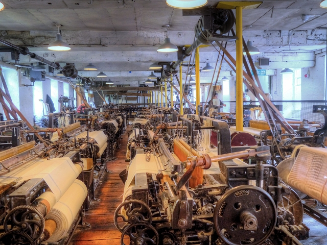 Weaving Shed at Quarry Bank Mill