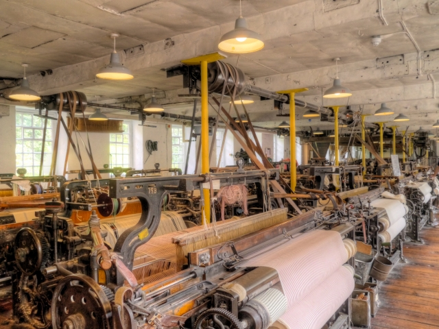 Quarry Bank Mill, Weaving Shed