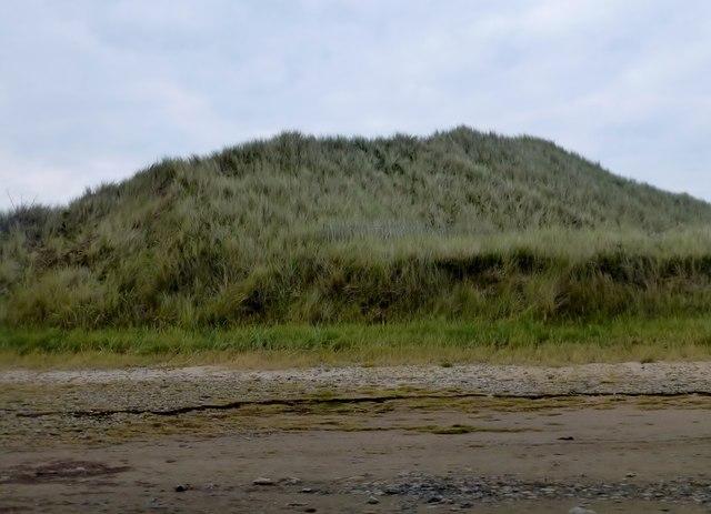 A Dune Near Lindisfarne Causeway