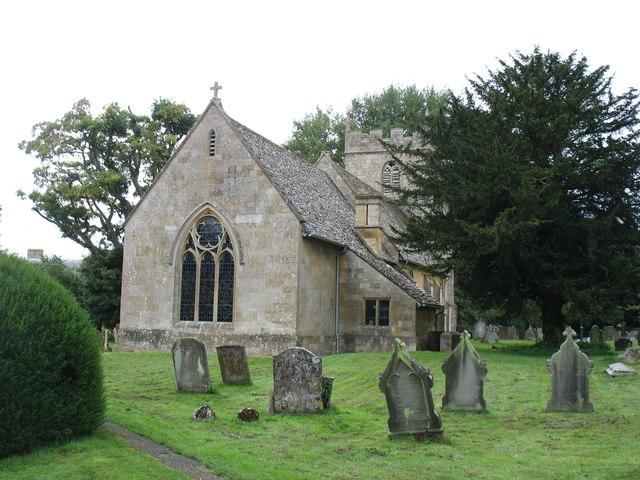 The church of St Eadburgha, Ebrington