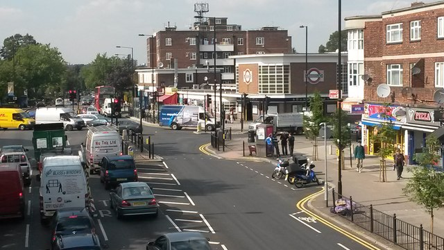 Bounds Green Road, near Bounds Green tube station