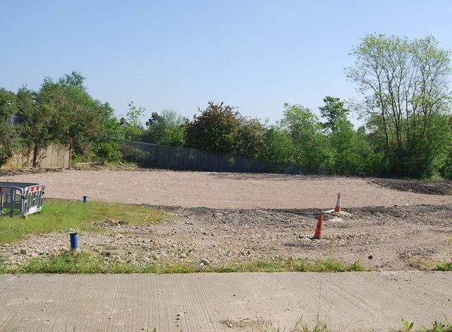 Site of former gasholder