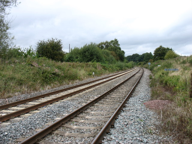The line from Oxford to Worcester