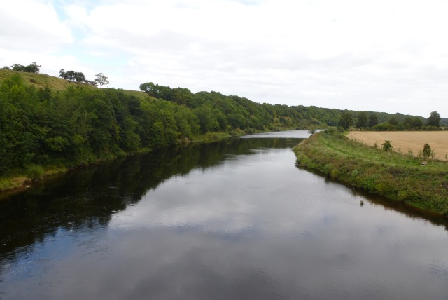 Downstream on the Tweed