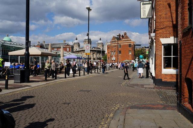 Princess Dock Street, Hull