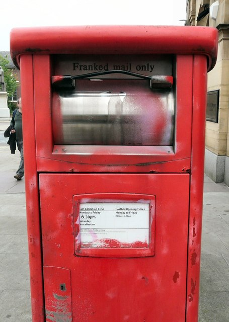 Franked Mail Only