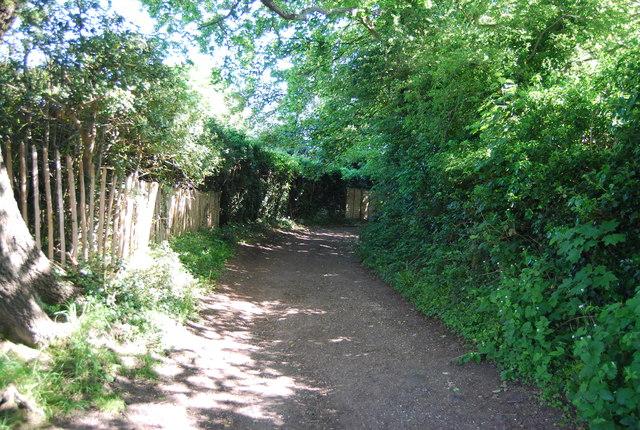 Footpath to Liptrap Lane