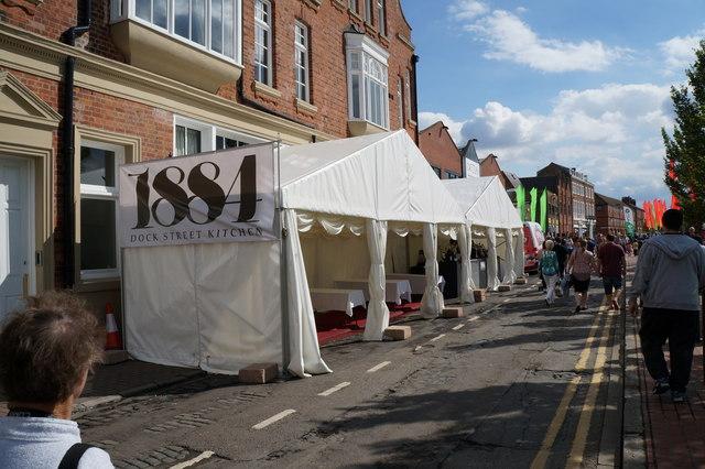 Festival Bar on Dock  Street, Hull