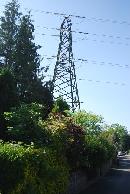 Pylon by Birken Rd