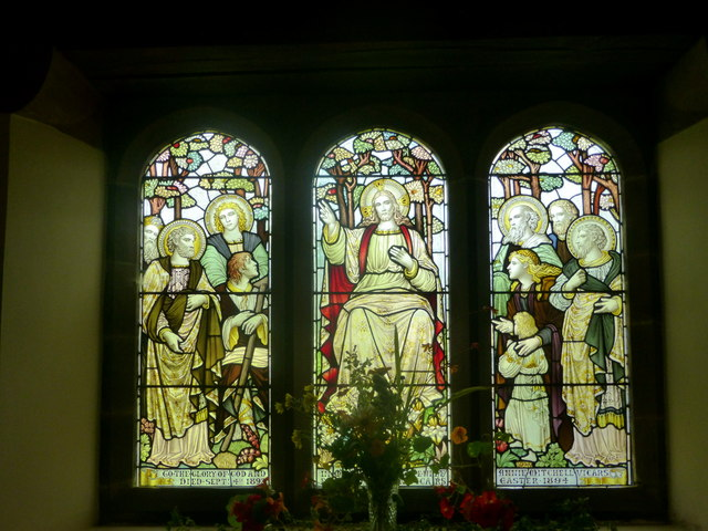 East window in St. Catherine's church, Boot