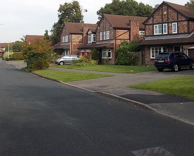 Hazelwood Road houses, Wilmslow
