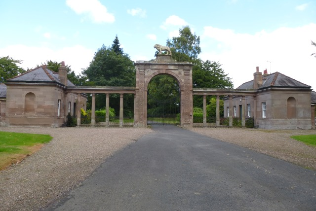 Entrance at West Lodge