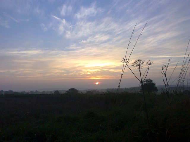 Corvedale sun-rise