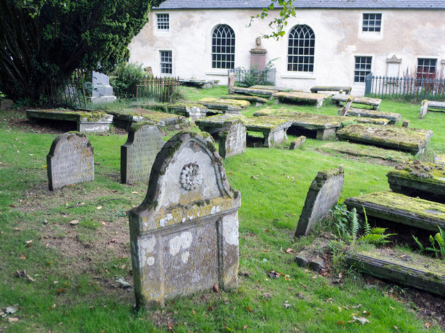 The graveyard of Cromarty East Church