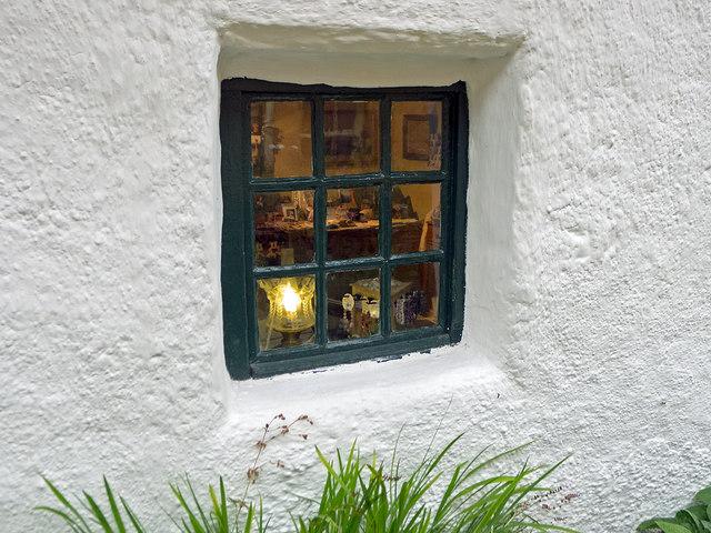 Window into Hugh Miller's Cottage