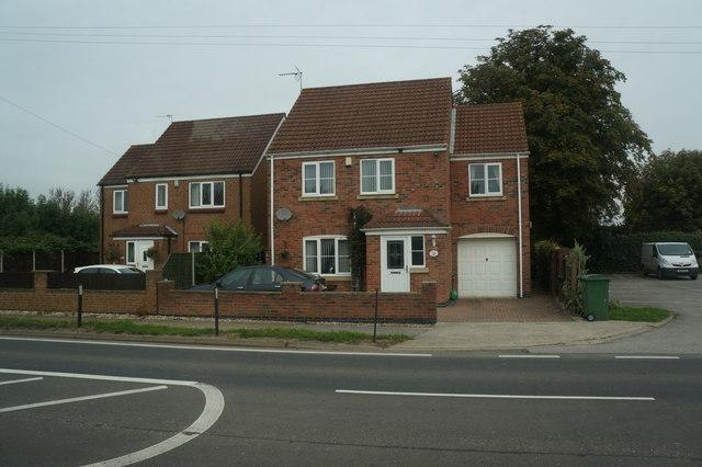Houses on Main Street, Gilberdyke