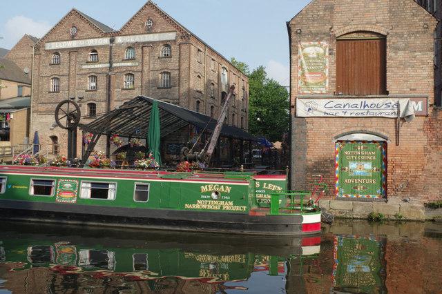 Canal House Wharf, Nottingham