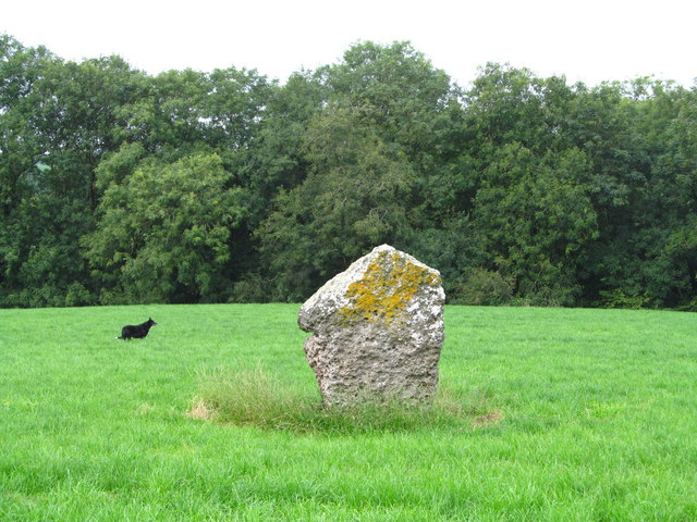 Standing stone at Clomendy