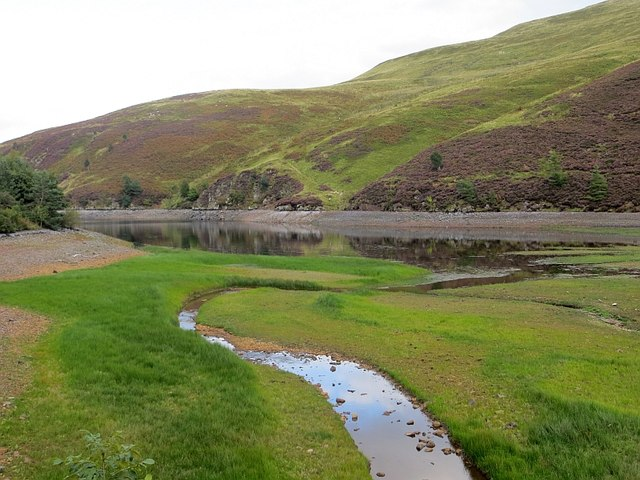 Head of Glencorse Reservoir