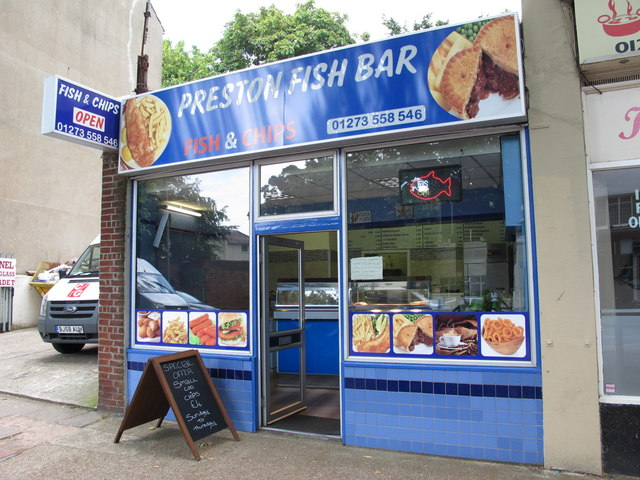 Preston Fish Bar, Beaconsfield Road, BN1