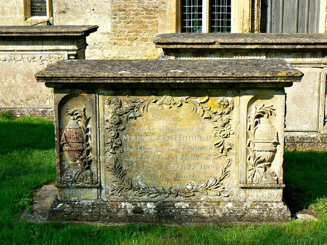 Hooper family tomb, Church of St Cyriac, Lacock