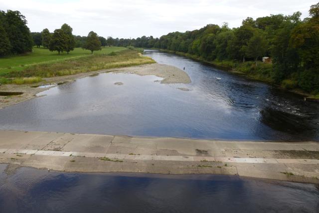 Tweed from Coldstream Bridge