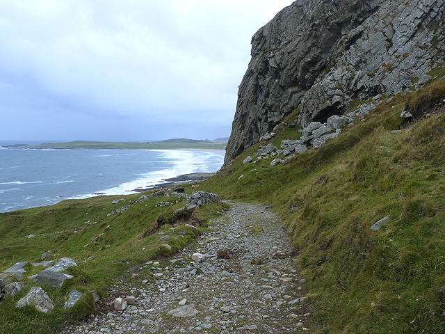 Path over the Bealach na Caillich