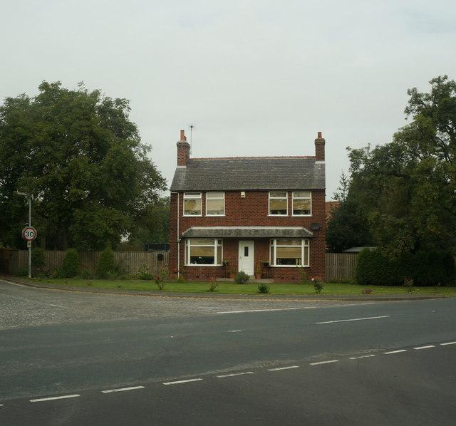 House on Barnhill Lane, Howden