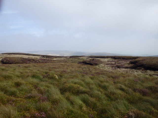 Banc Bugeilyn Summit Area