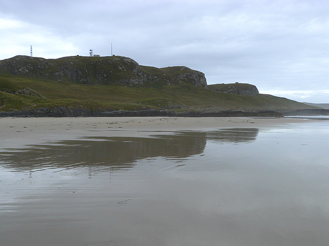 Southern end of Machir Bay