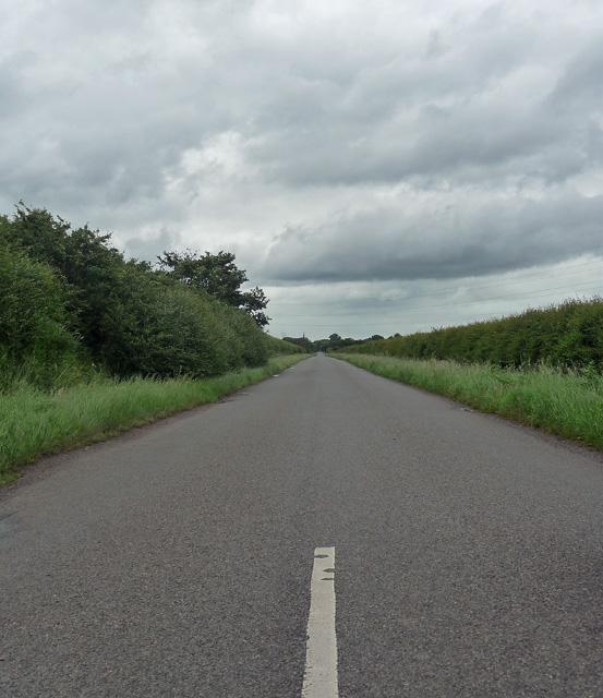 Country road near Thoroton (2)