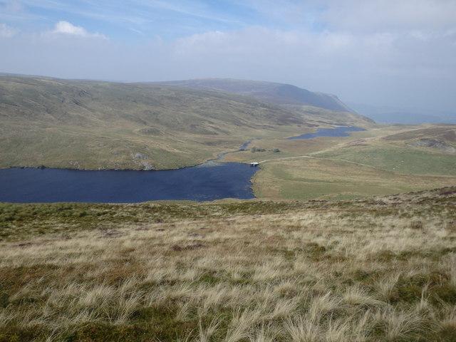 Descending Banc Bugeilyn