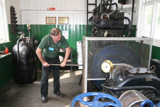 Twyford Waterworks - 1934 diesel engine