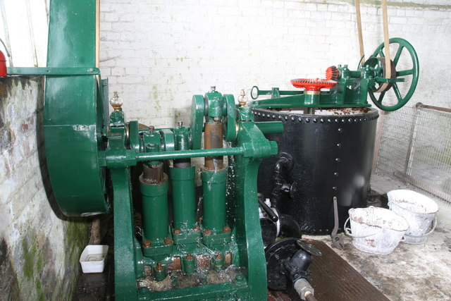 Tywford Waterworks - lime mixing plant