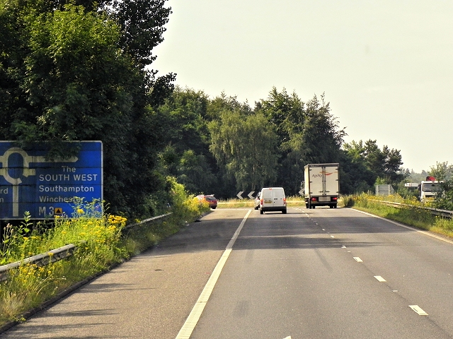 Link Road to M3 Junction 6