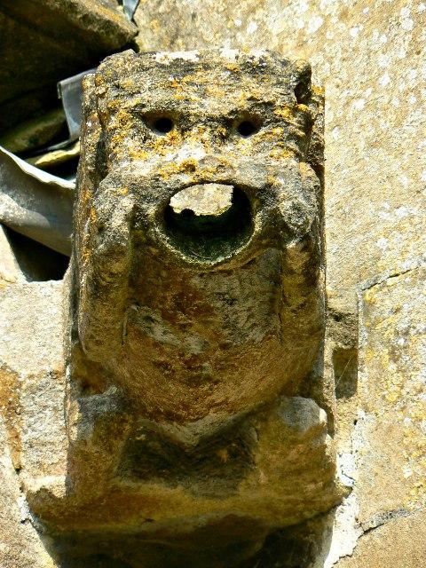 Gargoyle, Church of St Cyriac, Lacock, Wiltshire
