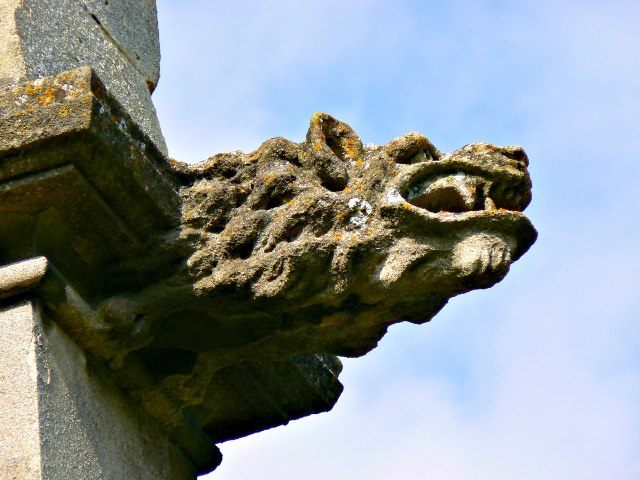 Grotesque, Church of St Cyriac, Lacock, Wiltshire