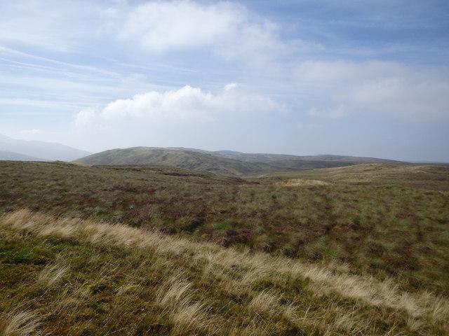 Summit Area, Llechwedd Crin