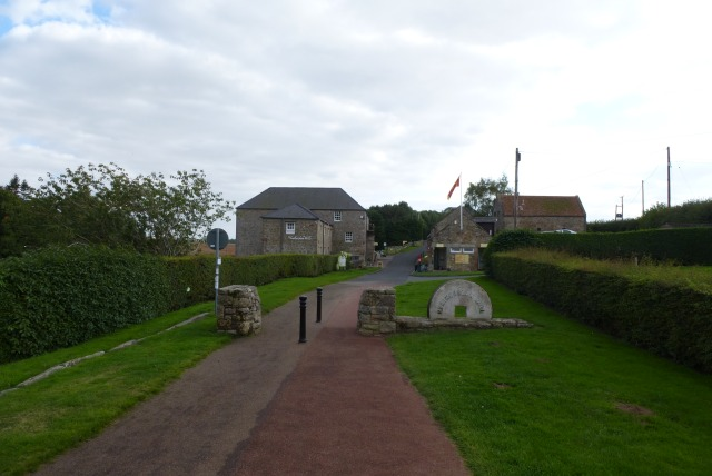 Heatherslaw village