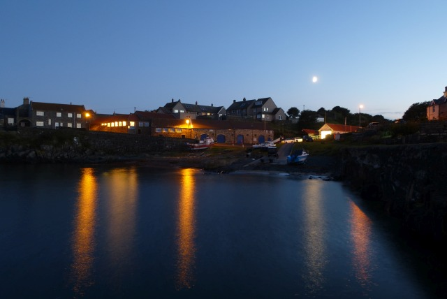 Across Craster Harbour