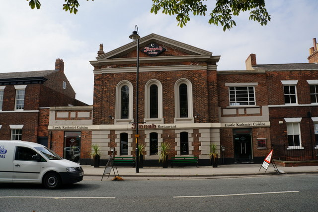 Jinnah Restaurant on Park Street, Selby