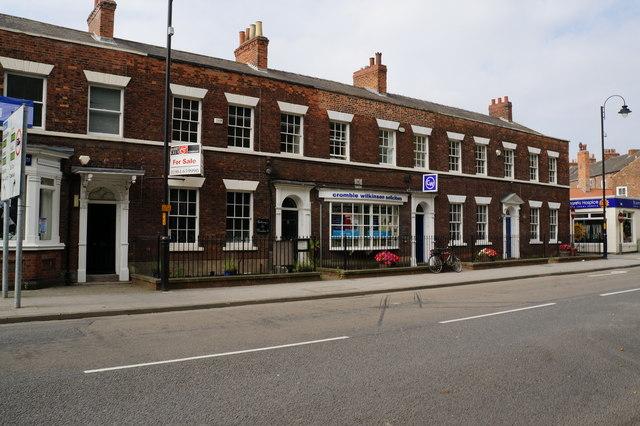 Buildings on Park Street, Selby