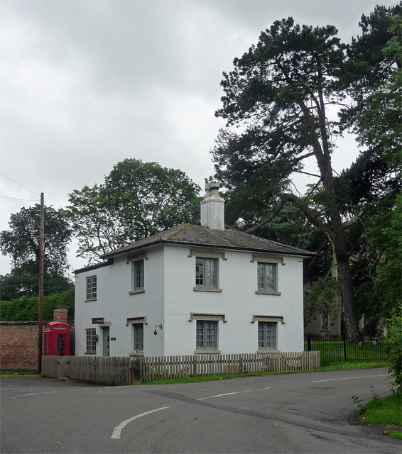Former lodge, Elton on the Hill