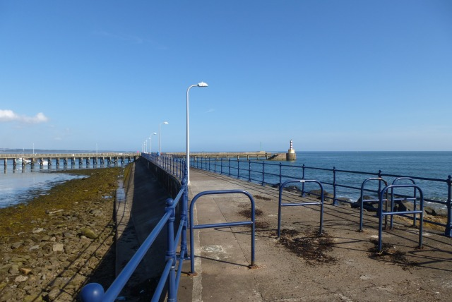 Start of the south pier