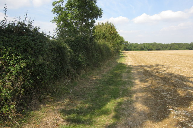 Footpath towards Southill