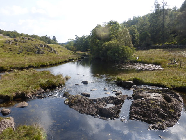 The River Brathay, Little Langdale