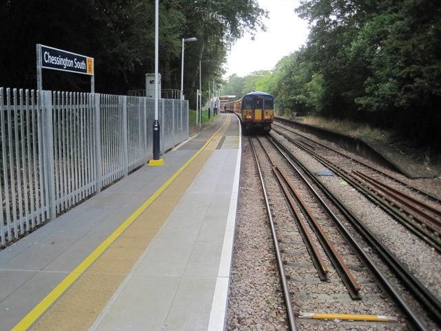 Chessington South railway station, Greater London