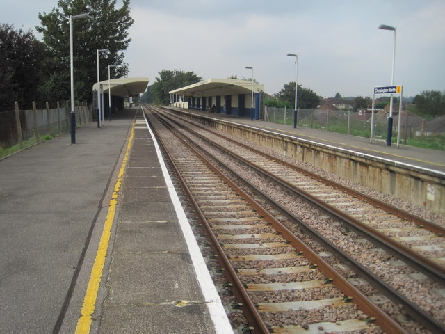 Chessington North railway station, Greater London