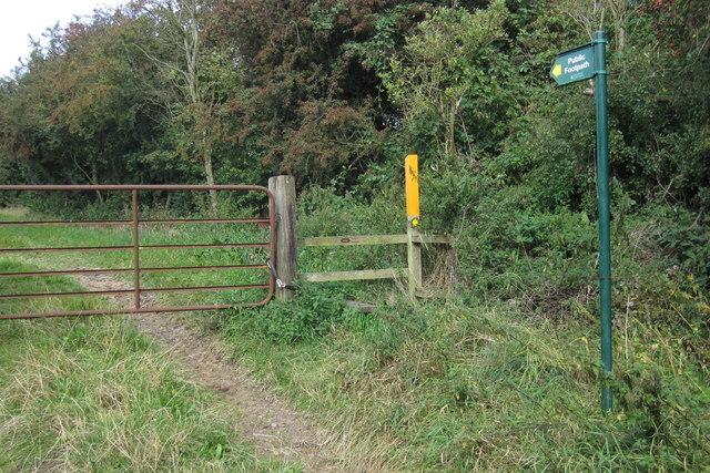Footpath to Blackberry Lane